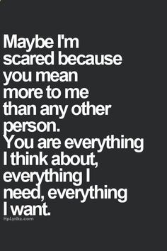 xo...I love you! I hope this is how you feel for me  thats why you become distant after being so close!!
