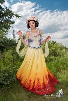 Art Nouveau Disney Princesses Group Cosplay http://geekxgirls.com/article.php?ID=7328