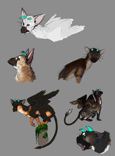 Trico Designs by Kelskora.deviantart.com on @DeviantArt