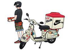 NIKE delivery man by Jungyoun Kim