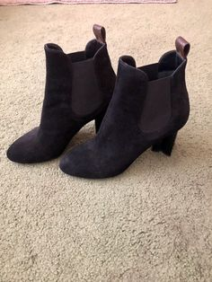 Booties on Mercari Louis Vuitton Boots, Suede Heels, Ankle Boots, Booty, Shoes Women, Priority Mail, Fashion, Ankle Booties, Wide Fit Women's Shoes