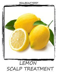 Lemon Juice scalp remedy