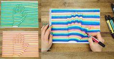 How to Make 3D Handprint - DIY & Crafts - Handimania