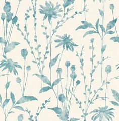 Meadow Blue wallpaper by Albany