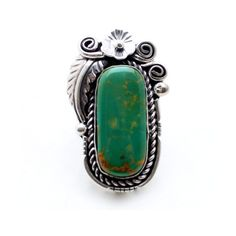 Moss Water Native American Ring ($170) ❤ liked on Polyvore featuring jewelry, rings, green turquoise, native american jewellery, native american rings, american indian jewelry, child of wild jewelry and native american jewelry