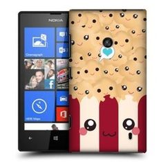 With this cutesy back case design lineup from Head Case Designs, you can flaunt to people how much of a popcorn-lover you are as you encase your Nokia Lumia 520 on it!