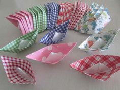 36 paper boat origami decoration photo prop art by shredlock, $25.00