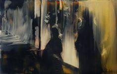Maartje Overmars, Zonder titel, 19 x 30 cm, olieverf op multiplex, 2011