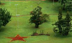 A estrela do PT flagrada no Alvorada em 2004 (Foto: Ronaldo de Oliveira / CBPress)
