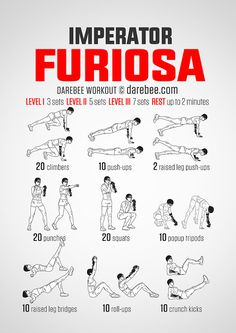 Imperator Furiosa Workout Everyone who saw Mad Max: Fury Road realizes that…
