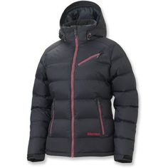 Marmot Sling Shot Insulated Down Jacket - Women's. online only, in blue.