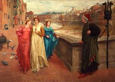 Henry Holiday - Dante and Beatrice (1884)