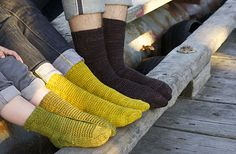 iamanangryknitter:  baronessofobvious:  flintandpyrite:  The Simple Collection from Tin Can Knits, a series of free patterns designed to tea...