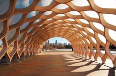 Studio Gang's Curvaceious Wood Pavilion at Chicago's Lincoln Park Zoo | Inhabitat - Sustainable Design Innovation, Eco Architecture, Green Building