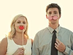 Fake lips and mustaches in Crafts for decoration, gifts, presents and accessories at weddings