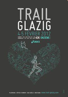 Affiche Trail Glazig 2012