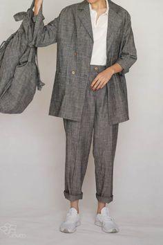 Linum Linen Suit CAIM and DEKKO8 Linen Suit, Normcore, Suits, Nature, Clothes, Style, Fashion, Outfits, Swag