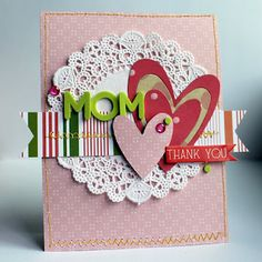 mother's day card - Pebbles blog