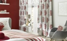 Draperii si perdele dormitor Aarau Living, Curtains, Flooring, Interior, Design, Home Decor, Blinds, Decoration Home, Indoor