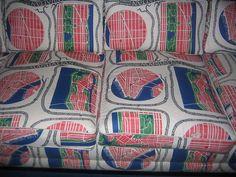 #JosefFrank #Manhattan fabric, at the #MaritimeHotel