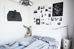 Uudistettu makkari // Anna & Sebastian Photo Wall, Anna, Bedroom, Frame, Home Decor, Picture Frame, Photograph, Decoration Home, Room Decor