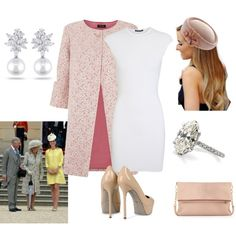 Queen's Garden Party with in-laws, created by royal-fashion on Polyvore