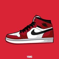 Drawn up Air jordan 1 red Sneakers Wallpaper, Shoes Wallpaper, Jordan 1 Red, 1 Clipart, Winter Outfits For School, Sneaker Art, Nike Shoes Outfits, Baskets, Victorias Secret Models