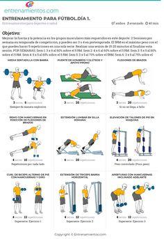 rutina de ejercicios maternity futbolistas pdf