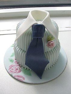 Father's Day Tie cake idea