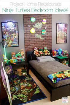Project Home Redecorate: Ninja Turtles Bedroom Ideas