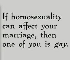 Are there any actual, logical, non-religious reasons why gays shouldn't marry?