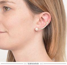 Earcuff #acessórios #bijoux #brinco #tendência #moda #earcuff #trend #look #shop #loja #ecommerce #comprasonline #lnl #looknowlook