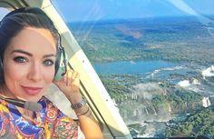 Ai que coisa linda! Meu Deus que privilégio poder ver tanta beleza! Passeio de helicoptero sobrevoando as Cataratas... Incrível! Obrigada #Helisul foi demais!