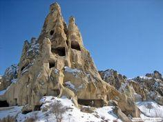 Cappadocia in winter. Turkey (Türkiye)