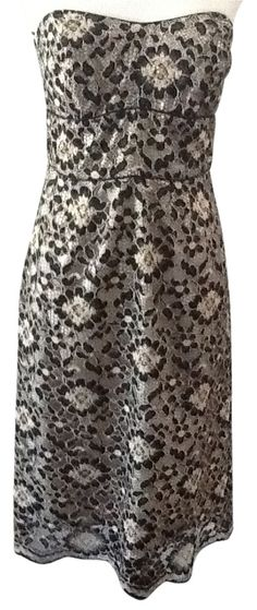 027798022fb8 Molly New York Black Strapless Lace Size 6 Dress. Free shipping and  guaranteed authenticity on