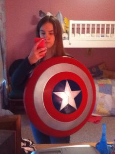 Today I got my shield for my Captain America Cosplay! Captain America Cosplay, Superhero, Fictional Characters, Art, Art Background, Kunst, Performing Arts, Fantasy Characters, Art Education Resources