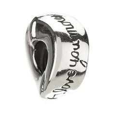 401f21c03 Chamilia Silver Love You, Love You More Bead- H. Samuel the Jeweller  Chamilia