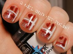 70 Lovely Valentines Day Inspired Nail Art Ideas  Family Holiday