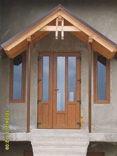 Usi Ferestre Termopan - Ferestre Salamander MD Upvc Windows, House Elevation, Gazebo, Shed, Outdoor Structures, Doors, Design, Houses, Kiosk