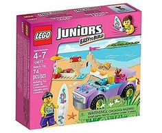 Lego #juniors #10677: #beach trip toy game kids play gift take a trip to the beac,  View more on the LINK: http://www.zeppy.io/product/gb/2/152117830819/