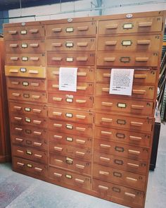 We still have a large set of these available geological specimen drawers from Durham university W1.76cm H1.92cm it has 36 drawers it's a great piece
