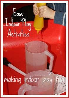 Indoor Play Ideas for Another Snow Day