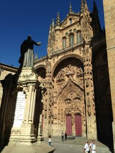 Salamanca, Spain is a beautiful fusion of the old and the new, the current and the past.