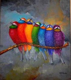 de kleuren van de  chakra's