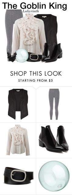 """""""The Goblin King - Labyrinth"""" by nerd-ville ❤ liked on Polyvore featuring Limited Edition, T By Alexander Wang, Jil Sander, Mixit, CB2, Betty Jackson and davidbowie"""