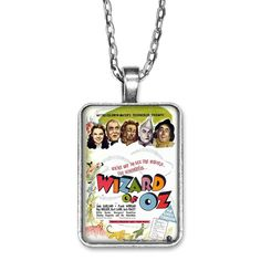 THE WIZARD OF OZ DOG TAG NECKLACE OR KEYCHAIN..YOU CHOOSE L@@K