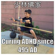 Horse stance cures ADHD
