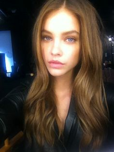 Barbara Palvin's hair