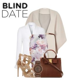 """""""#work"""" by vanjahh ❤ liked on Polyvore featuring River Island, Lipsy, Tamara Mellon, WeWood, women's clothing, women, female, woman, misses and juniors"""