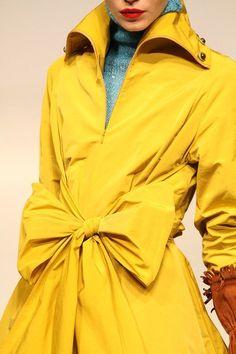 Gorgeous yellow coat